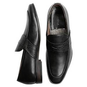 Zanzara Muse Black Penny Loafers