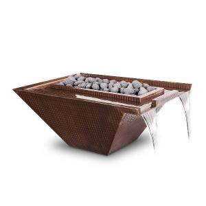 The Outdoor Plus Nile Copper Fire & Water Bowl