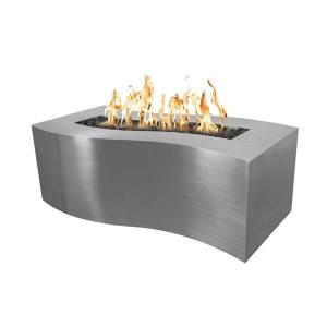 The Outdoor Plus Billow Stainless Steel Fire Pit