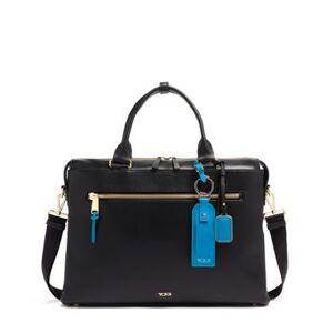 tumi Cameron Business Brief Leather  - Nova/Blue - Size: one size
