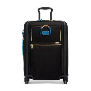 tumi Continental Dual Access 4 Wheeled Carry-On  - Nova/Blue - Size: one size