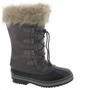 Sorel Joan Of Arctic Girls' Youth Grey Boot 7 Youth M
