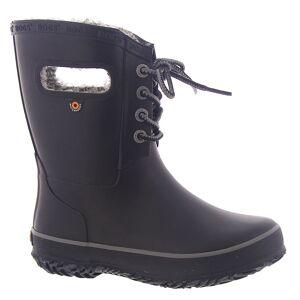 BOGS Amanda Plush Girls' Toddler-Youth Black Boot 2 Youth M