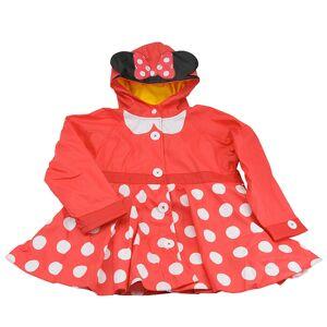 Western Digital Chief Girls' Minnie Mouse Rain Coat Red Coats 4T