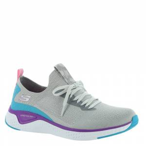 Skechers Sport Solar Fuse-13325 Women's Grey Sneaker 9 M