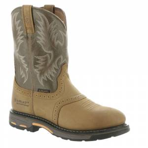 Ariat Workhog Pull-On H2O Men's Brown Boot 8.5 E2