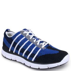 Apex Bolt Athletic Knit Men's Navy Sneaker 10.5 XW