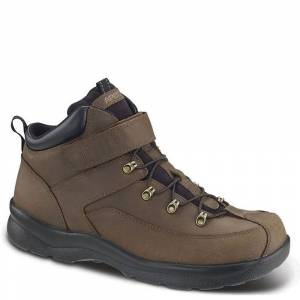 Apex Hiking Boots Men's Brown Boot 7 W