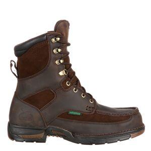 "Georgia Boot Athens 8"" Soft Toe Men's Brown Boot 10 M"