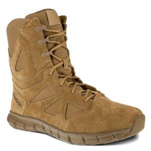 "Reebok Work Sublite Cushion Tactical 8"" Men's Tan Boot 13 W"