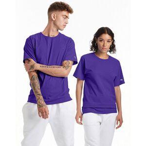 Champion Men's Classic Jersey Tee Purple Knit Tops XL