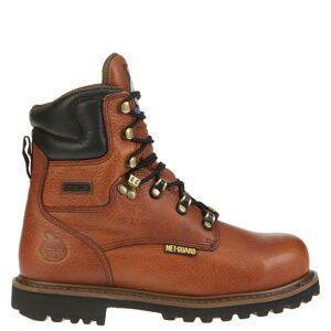 "Georgia Boot Internal Metguard 8"" Safety Men's Brown Boot 11 W"