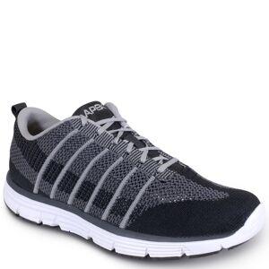 Apex Bolt Athletic Knit Men's Black Sneaker 10.5 XW