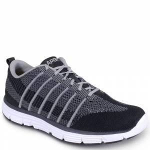 Apex Bolt Athletic Knit Men's Black Sneaker 10 M