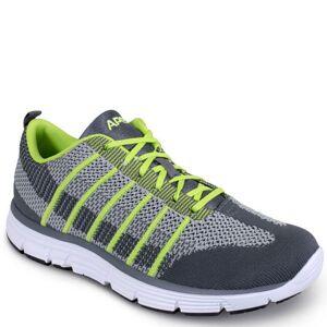 Apex Bolt Athletic Knit Men's Green Sneaker 7.5 XW