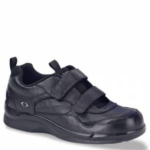 Apex Active Strap Walker Men's Black Walking 11.5 M