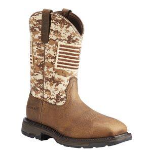 Ariat Workhog Patriot Men's Brown Boot 14 E2