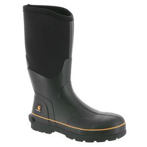 "Carhartt CMV1121 10"" Soft Toe Rubber Boot Men's Black Boot 13 M"