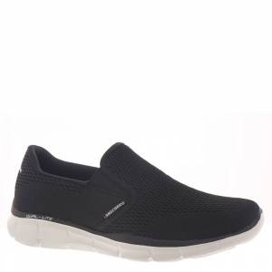 Skechers Sport Equalizer Double Play Men's Black Slip On 7.5 M
