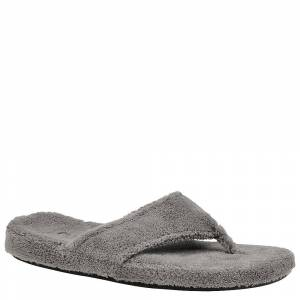 Acorn New Spa Thong Women's Grey Slipper L M
