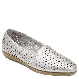 Aerosoles You Betcha Women's Silver Slip On 8.5 W