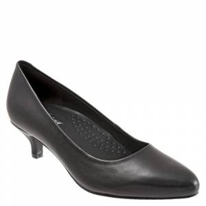 Trotters Kiera Women's Black Pump 9 N