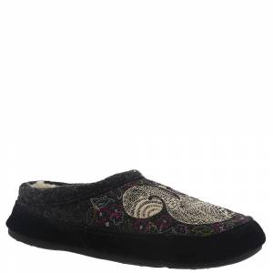 Acorn Forest Mule Women's Grey Slipper S M