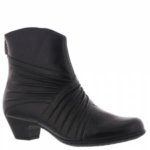 Rockport Brynn Ruched Boot Women's Black Boot 10 M