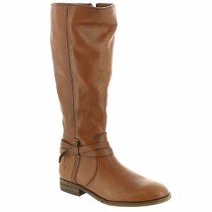 Frye Company Melissa Belted Tall Extended Calf Women's Brown Boot 10 M