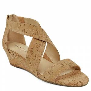 Aerosoles Apprentice Women's Tan Sandal 8 M
