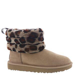 UGG Fluff Mini Quilt Leopard Women's Multi Boot 5 M