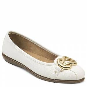 Aerosoles Big Bet Women's White Slip On 7.5 M