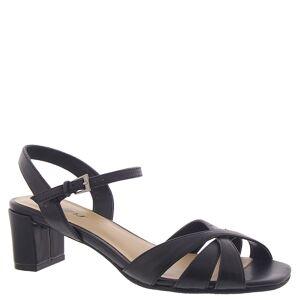 Trotters Majesty Women's Black Sandal 9 N