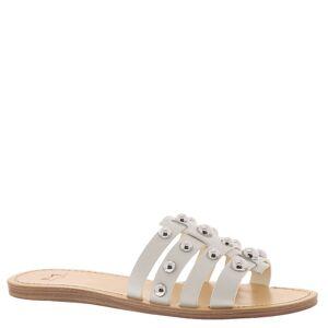 Marc Fisher LTD Pava Women's White Sandal 10 M