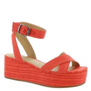 Lucky Brand Bikaro Women's Orange Sandal 10 M