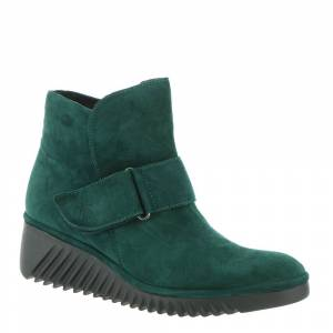 Fly London Labe Women's Green Boot Euro 40 US 9 - 9.5 M