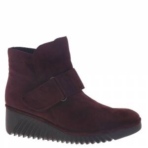 Fly London Labe Women's Burgundy Boot Euro 38 US 7.5 - 8 M