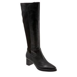 Trotters Kirby Women's Black Boot 5.5 M