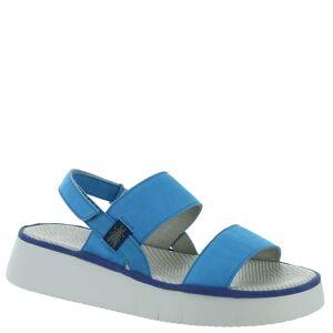 Fly London Cura Women's Blue Sandal Euro 37 US 6.5 - 7 M