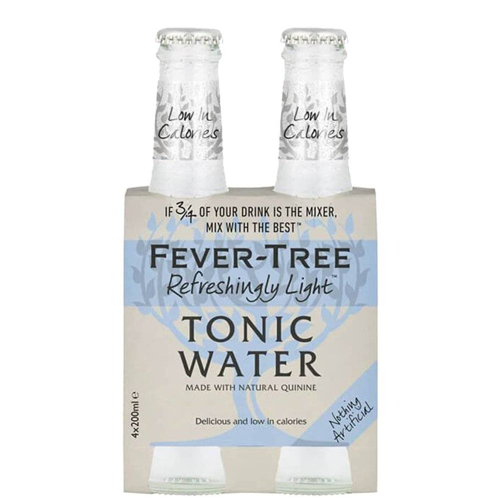 "Fever-Tree - Tonic Water ""refreshingly Light"""