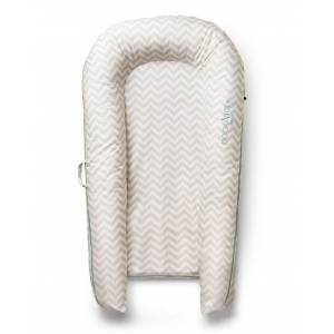 DockATot Spare Cover (Grand) - Silver Lining (Chevron) - Silver Lining (Chevron)