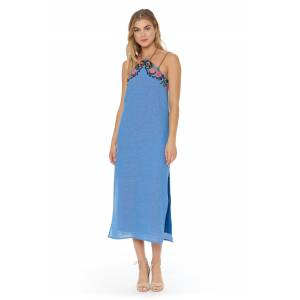 Red Carter Bay Maxi Dress - female - Size: Large