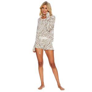 Beach Riot Newport Sweater-Moonlight Zebra - female - Size: Extra Small