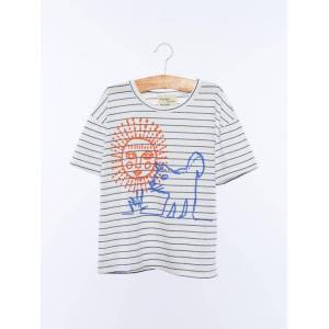 Wander & Wonder Sun and The Dog Tee  - Size: 11-12Y