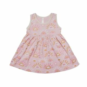 Wild Wawa Gigi Dress Rays  - Size: 3-6m