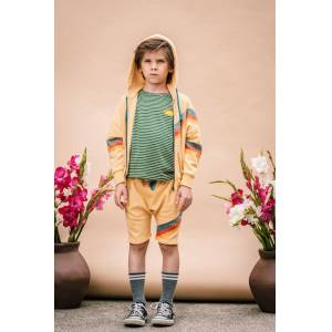 Wander & Wonder Zip Up Hoodie - Butter  - Size: 9-10Y