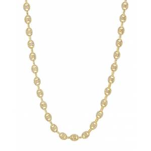 Luv Aj Pave Mariner Chain Necklace - Gold - female