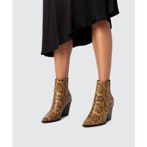 Dolce Vita Issa Boot - Amber Snake - female - Size: 8.5