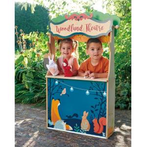 Tender Leaf Toys Woodland Stores and Theater - Multi