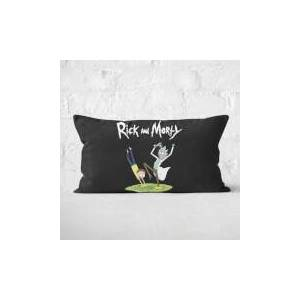 Rick And Morty Portal Rectangular Cushion - 30x50cm - Soft Touch